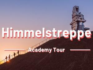 Himmelsleiter Bergwanderweg Treppe | Outdoor Stadtrallye Familientour Rätseltour Outdoor Escape | Bochum Wattenscheid Nordrheinwestfalen | Sir Peter Morgan