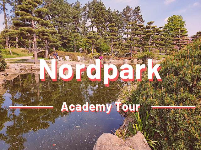 Düsseldorf Detektivspiel Nordpark Academy Tour | Outdoor Rätseltour Schnitzeljagt | Sir Peter Morgan