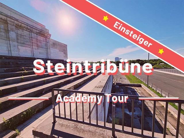 Steintribüne und Zeppelinfeld Nürnberg – Einsteigertour- Rätseltour