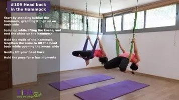 Head back in the Hammock – exercise #109