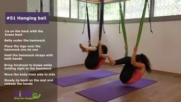 Hanging ball – exercise #51