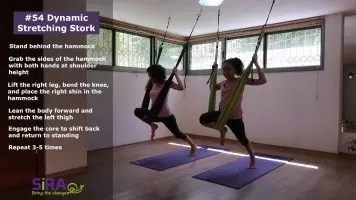 Dynamic Stretching Stork – exercise #54