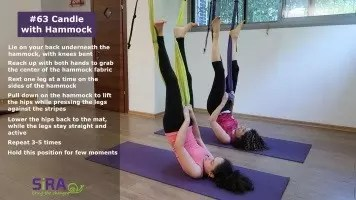 Candle with Hammock – exercise #63