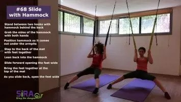Slide with Hammock – exercise #68