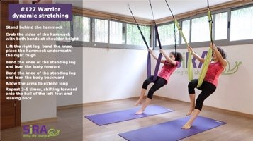 Warrior dynamic stretching – exercise #127