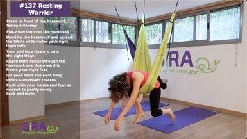 Resting Warrior – exercise #137