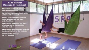 Partner Massage in Hammock – exercise #141