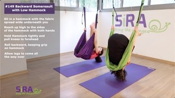 Backward Somersault with Low Hammock – exercise #149