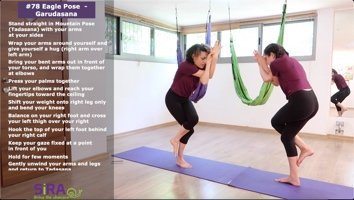 Eagle Pose (Garudasana) – exercise #78