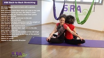 Back-to-Back Stretching – exercise #86