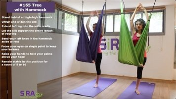 Tree with Hammock – exercise #165