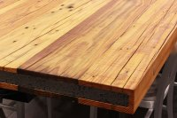 Rustic Heart Pine Table Top | Sir Belly