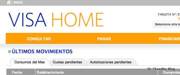 Visa cambió su página web después de años!