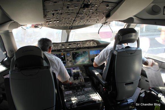 Último vuelo del 2012: Regreso desde Chile en Business del 787 (I/III)