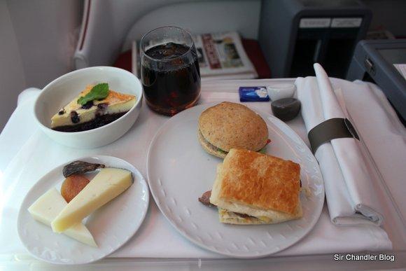 Último vuelo del 2012: Regreso desde Chile en Business del 787 (III/III)