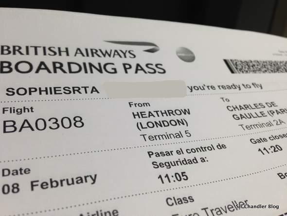 Volando a París desde Londres (crónica del vuelo)