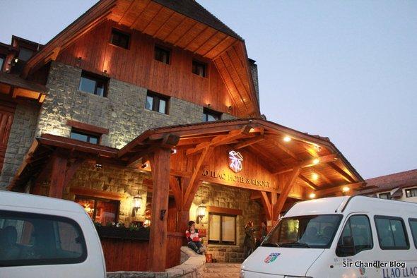 Recorriendo el Hotel Llao Llao en Bariloche