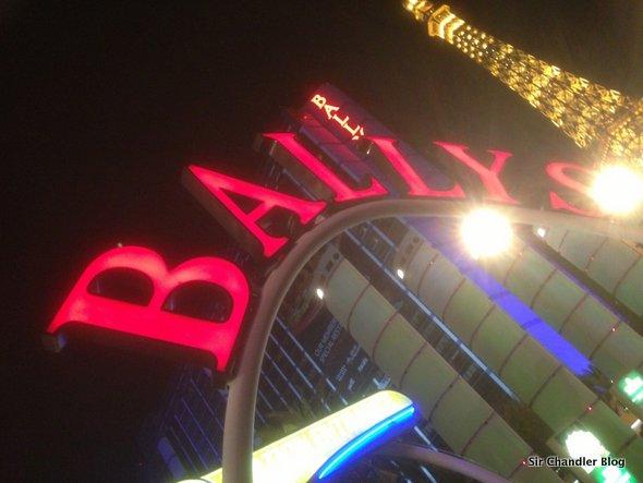 El Hotel Ballys en Las Vegas, enorme y económico