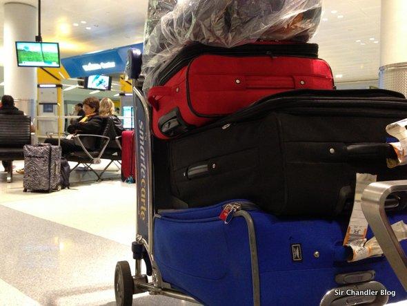 Me «swapearon» la valija en Ezeiza