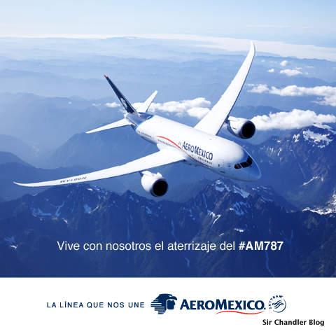 Aeroméxico recibió su primer 787 a pleno en las redes sociales