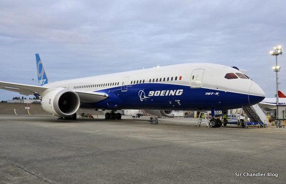 Una nueva versión del Boeing 787 hace su vuelo de prueba