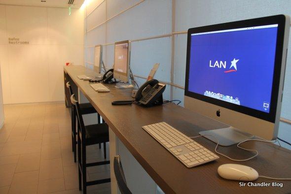 El salón VIP de LAN permite el acceso por menos que el de AMEX o canje de Km LANPASS