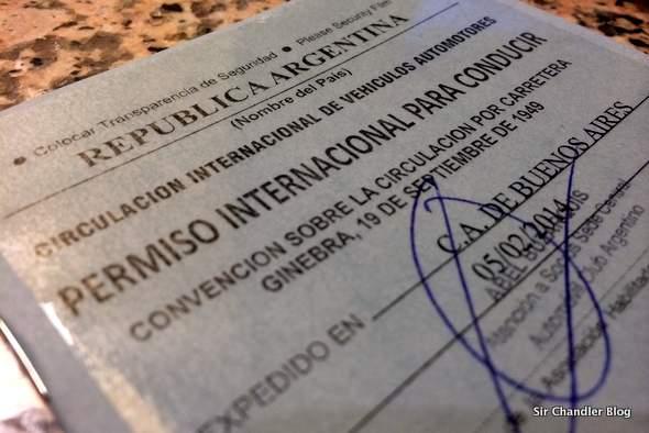 Llevando los consejos a la práctica: hoy la Licencia internacional de conducir