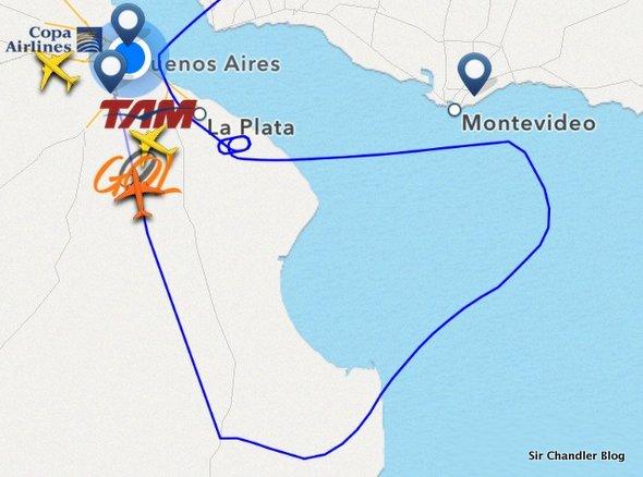 Tensión con vuelo de GOL durante la tormenta (entre los que lo seguíamos por twitter)