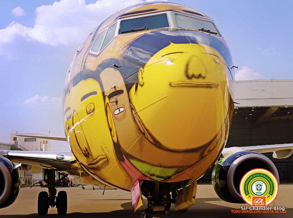 El Boeing 737 de GOL para el mundial