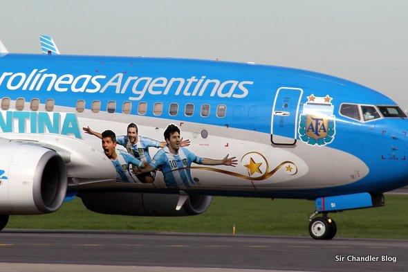 Aerolíneas Argentinas agregó nueve vuelos a Río de Janeiro para la final