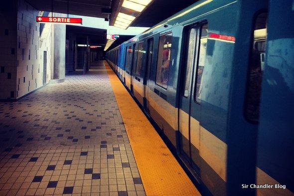 El metro de Montreal, con algo simple para copiar