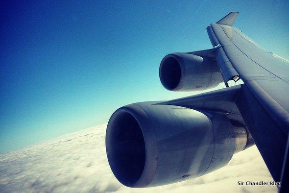 El Wifi de Lufthansa en sus vuelos. La data