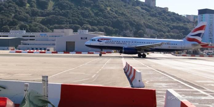 Cruzando la loca pista de Gibraltar