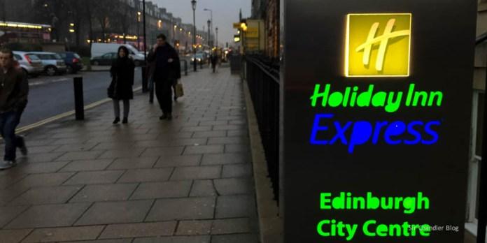 El Holiday Inn Express de Edimburgo