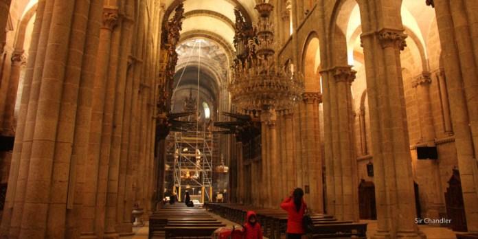 Una parada en Santiago de Compostela