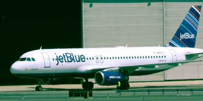 JetBlue documentó a los pagofacileros