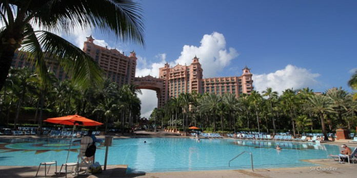 El mega hotel Atlantis de Bahamas