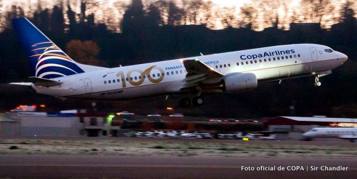 COPA llegó a su avión número 100