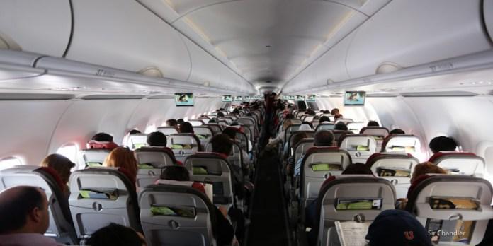 El Airbus 321 de LATAM con 220 asientos – crónica