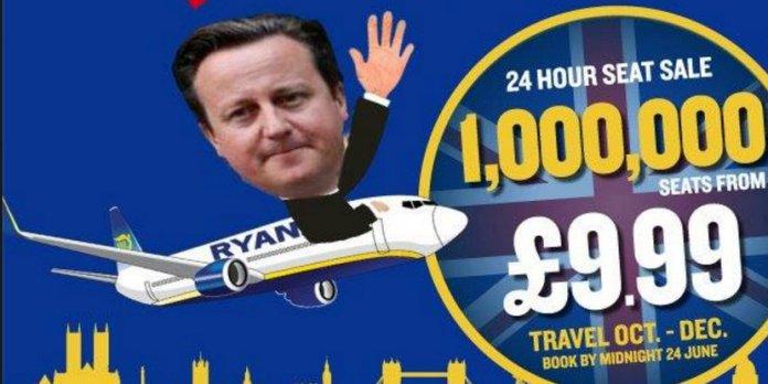 Ryanair lanza pasajes desde £9,99 por el #Brexit