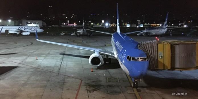 Volando a Ushuaia con Aerolíneas Argentinas