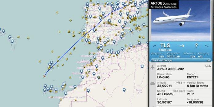 Aerolíneas Argentinas recibe su 7mo Airbus 330 (3ro nuevo)