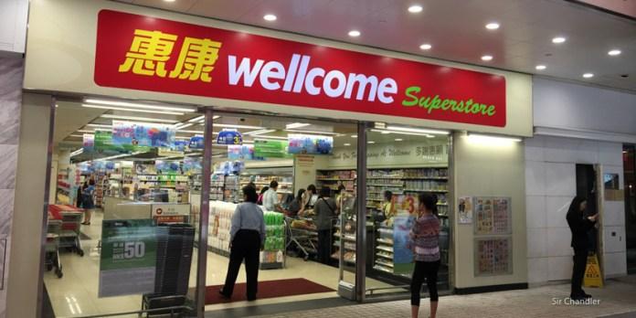 Visitando un supermercado en Hong Kong
