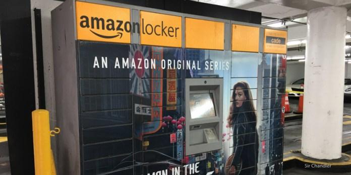 Usando los Amazon Lockers en Nueva York