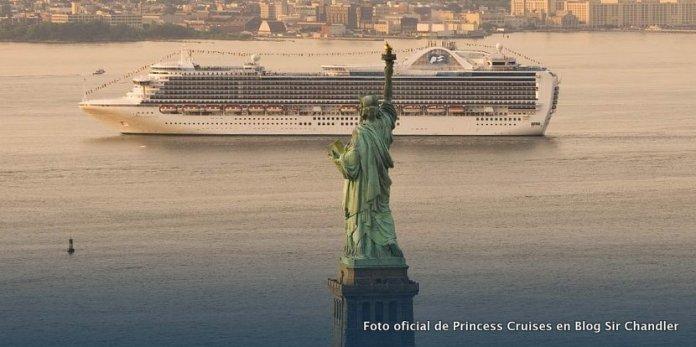#Miterio9: Saliendo en crucero desde Nueva York con Princess Cruises