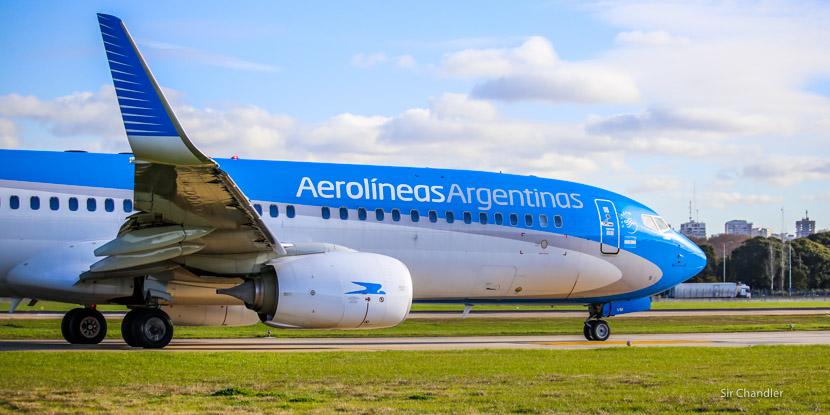 Entrevista con el gerente comercial de Aerolíneas Argentinas por la cajita y los otros cambios