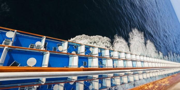 Un día en un crucero por el mar argentino