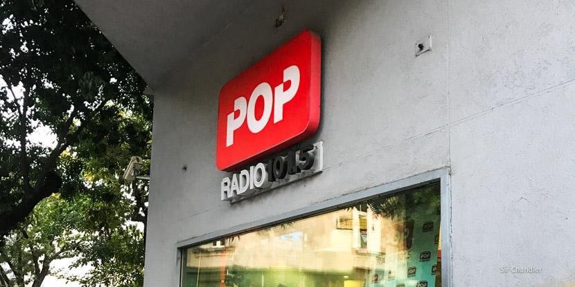 Una aparición en La vuelta pop por FM POP 101.5