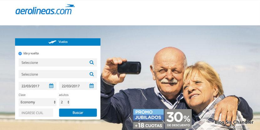 Los jubilados y el descuento en Aerolíneas Argentinas (mas la comparación con el micro)