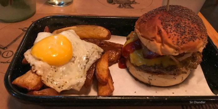 Hello Frank, una hamburguesa de Caballito